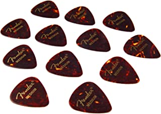 Fender 351 - Púa par guitarra (mediana, 12 unidades)