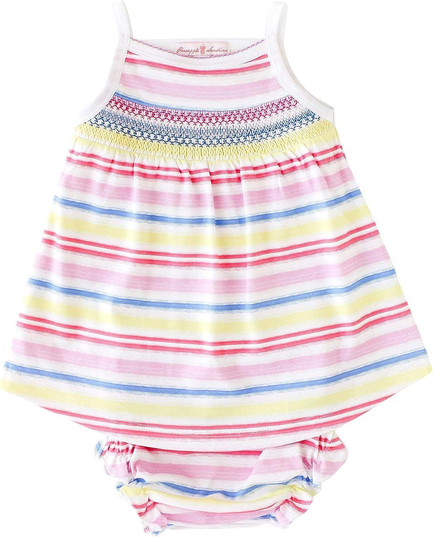 Rainbow Max 78% OFF Stripe Smocked Popular brand Dress Tank