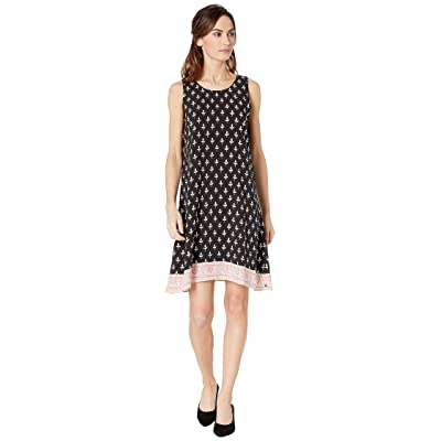 Hatley Meghan Dress (Black Tiny Buds) Women