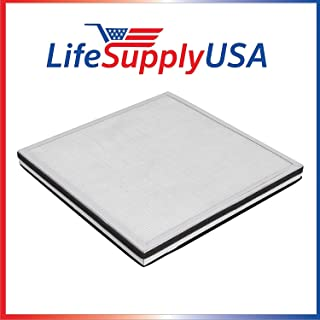 LifeSupplyUSA Replacement 3-in-1 HEPA, Carbon, Pre Filter Compatible with Surround Air MT-8400SF Air Purifier