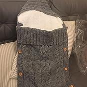 Yinuoday Saco de Dormir para Beb/é Cochecito Saco de Empavesado de Invierno Nido de Dormir Envoltura Manta Envolvente a Prueba de Viento Ni/ño C/álido Reci/én Nacido Saco de Pie para Asiento