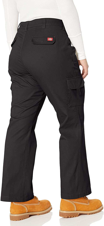 Dickies - - Relaxed Cargo Pant Femmes Rinsed Black
