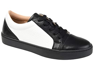 Journee Collection Comfort Foam Lynz Sneakers (Black) Women