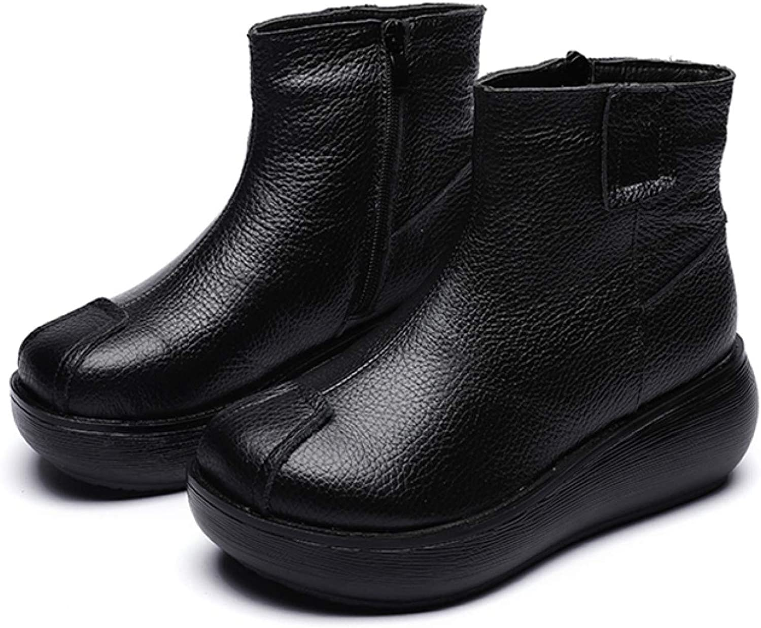 RHOMEIE Women's Ankle Boots Ladies Round Toe 40% OFF Cheap Sale On Slip Casual Side 2021 autumn and winter new