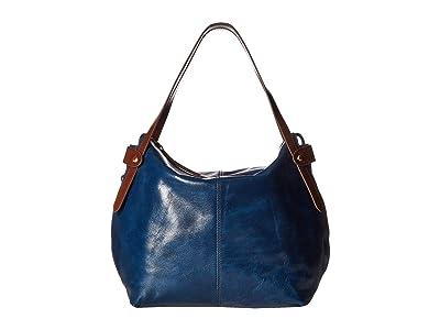 Hobo Elegy (Sapphire) Satchel Handbags