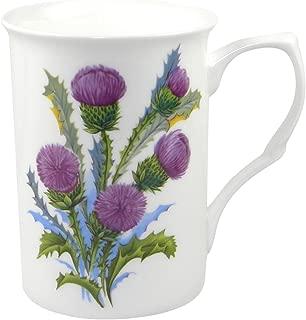 Adderley Glamis Thistle Fine Bone China Coffee or Tea Mug