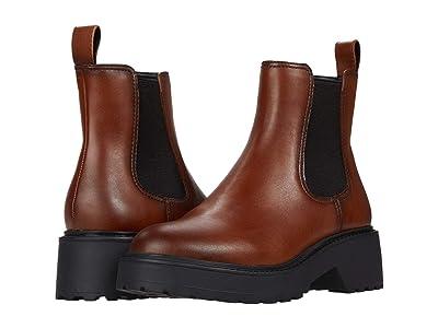 Steve Madden Trap Boot (Cognac Leather) Women