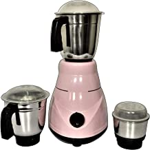 Mixer Grinder - 600W HOTMARK Mixer Grinder with 3 SS Jars - Wins on Price and Performance (Colors May Vary)(1yr Warranty)