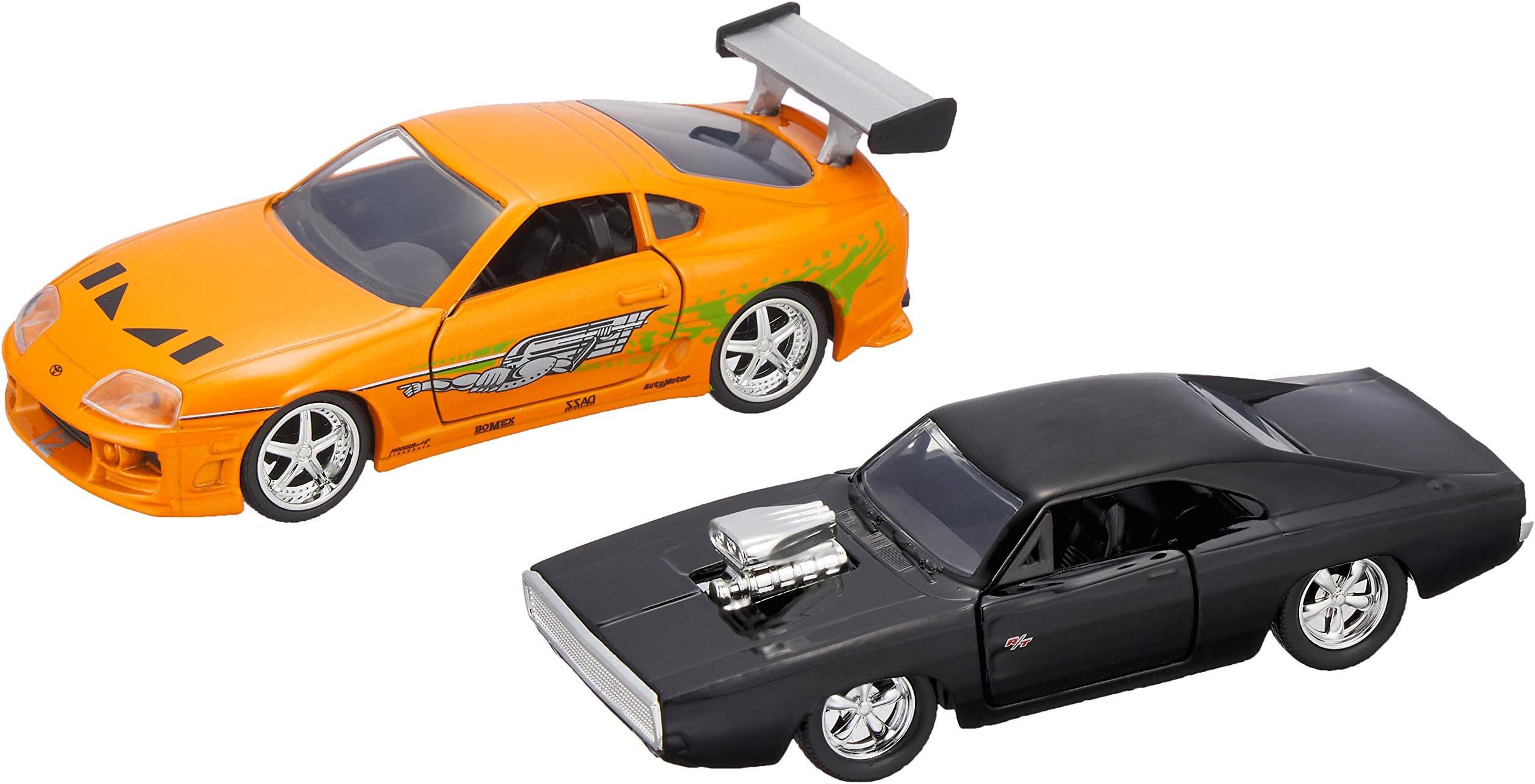 Jada 1995 Supra Furious 7 Car Toy 1//32 scale Diecast White Vehicle Model