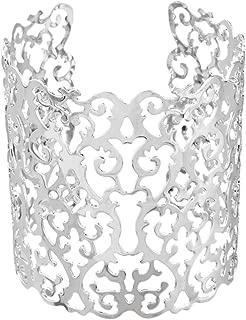 HuoGuo Fashion Bracelet Hollow Heart Geometric Silm Cuff Bangles Wide Bracelet For Women Bangles & Bracelets Jewelry For Party