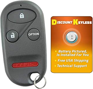 For 96-06 Honda Keyless Entry Remote Key Fob 4btn A269ZUA101, 72147-SZ3-A92, 72147-S0K-A13, 72147-S0K-A23