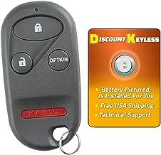 For 96-06 Honda Keyless Entry Remote Key Fob 4btn A269ZUA101, 72147-SZ3-A92, 72147-S0K-A13, 72147-S0K-A23
