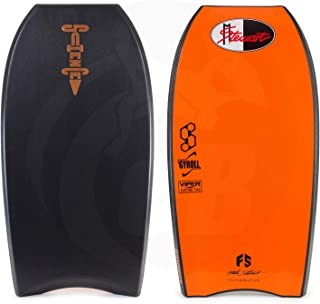 Mike Stewart Science Style Throwback Bodyboard 43 Black/Black/Silver