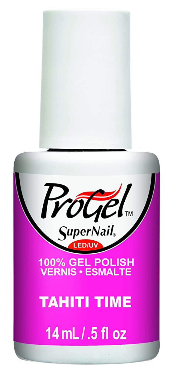 優遇足枷デッキSuperNail ProGel Gel Polish - Tahiti Time - 0.5oz / 14ml