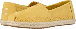 Electric Yellow Nubuck on Rope