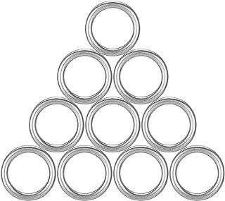 Engine Oil Drain Plug Crush Washers Aluminum Gaskets Seal Rings for VW Jetta Passat Tiguan Golf CC Audi A3 A4 A5 A6 A7 A8 Q3 Q5 Q7 TT RS7, Replacement OEM # N 013 815 7, Pack of 10