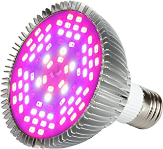 Morsen 50W LED Grow Light Bulb, Full Spectrum Grow lamp for Indoor Plants, Plant Light Bulbs for Indoor Garden Greenhouse and Hydroponic Plants