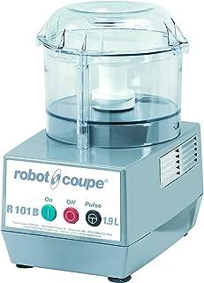 Robot Coupe R101 B CLR Combination Food Processor, 2.5-Liter Bowl, Polycarbonate, Clear, 120v