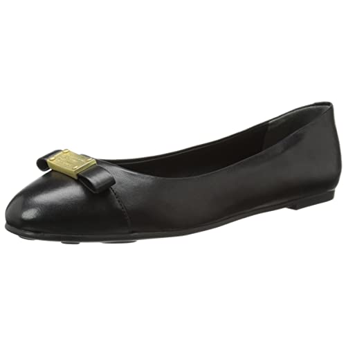 ec07ad972825 Marc by Marc Jacobs Women's Bow-Plate Ballet Flat