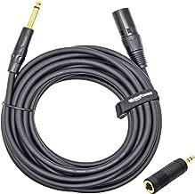 Cable de micr/ófono ah Cables K4 MFP 0100 conector XLR hembra a conector jack 6,3 mm est/éreo, 1 m