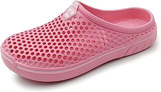 AMOJI Unisex Adult Clogs Garden Shoes Slippers AM1761