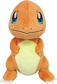 Sanei Pokemon All Star Series PP18 Charmander Stuffed Plush, 6.5