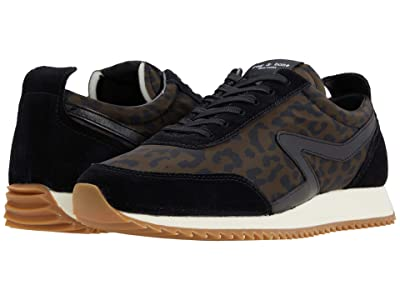 rag & bone Retro Runner (Black Cheetah) Women
