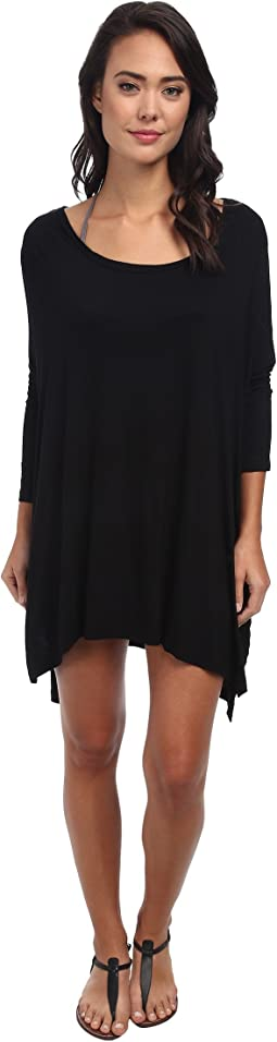 Body Glove - Brynn 3/4 Sleeve Tunic Cover-Up