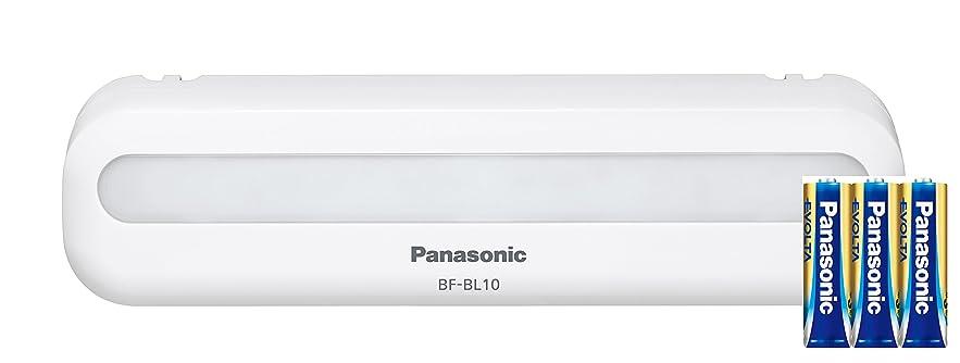 健康猟犬アラームパナソニック LEDマグネットライト 乾電池付き BF-BL10K-W