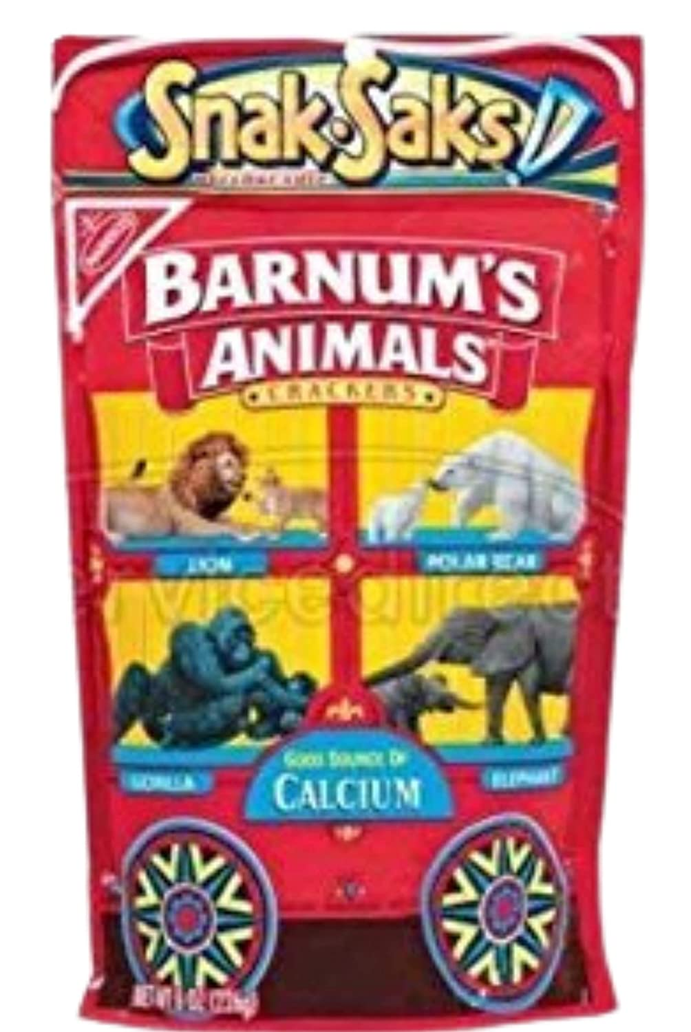 Nabisco Barnum's Animal Crackers Snack-Saks Bag Pack Easy-to-use Cheap mail order sales 8oz of