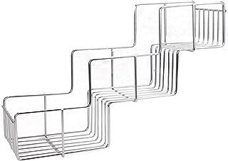 Caddie de douche à 3 niveaux | Application d'adhésif | Organisateur de salle de bain en acier inoxydable | Panier de range...