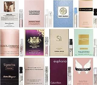 Women's Perfume Sampler Lot x 12 Sample Vials - High End Fragrance Samples (Set 2)