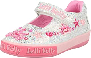 Size US 1 Lelli Kelly LK 9915 Vittoria Slides Sandals in Pink Glitter EU 32