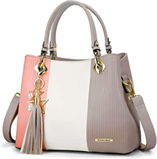 Handbags for Women with Multiple Internal Pockets in Pretty Color Combination