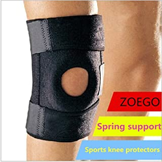 ZOEGO Protective Knee Pads, Avoid collisions, Knee Sleeves, can be Used for Jogging, Outdoor Rock Climbing Sports Riding Protectors, Relieve Joint Pain Relief, Arthritis and Injury Recovery (Advanced