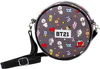 BT21 -Round Shoulder Bag, one size