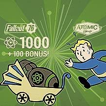 Fallout 76: 1000 (+100 Bonus) Atoms   - PS4 [Digital Code]