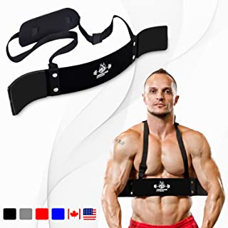 DMoose Fitness Arm Curl Blaster for Bicep Body Building...