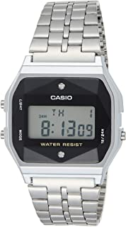Casio Mens Digital Watch, Digital Display and Stainless Steel Strap