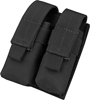 Kosibate Tactical Molle Dual Double Pistol 9mm Mag Magazine Pouch Close Holster