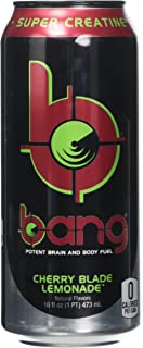 VPX Bang RTD, Cherry Blade Lemonade, 12 per Case - 16 Ounces