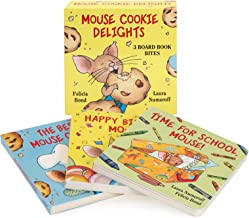 Mouse Cookie Delights: 3 Board Book Bites: The Best Mouse Cookie; Happy Birthday, Mouse!; Time for School, Mouse! (If You ...