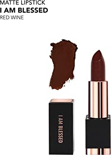 REALHER Matte Lipstick - I Am Blessed (Red Wine)