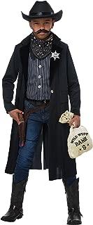 Boys Wild West Sheriff/Outlaw Costume