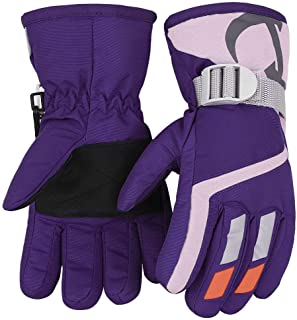 Kids Winter Warm Gloves For Skiing/Cycling Children...