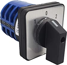 APIELE [3 year Warranty] Changeover Selector Switch 32A 3 Position 12 Terminals 690V Universal Rotary Cam Selector