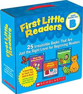 First Little Readers Guided Reading Level B: 25 Irresistible Books That Are Just the Right Level for Beginning Readers (Gu...