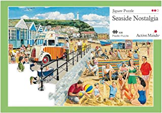 Active Minds 35 Piece Seaside Nostalgia Jigsaw Puzzle | Specialist Alzheimer's / Dementia Activities & Games