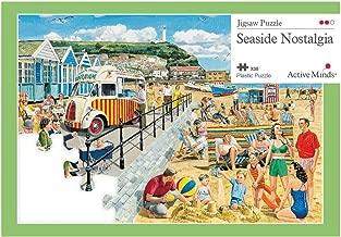 Active Minds 35 Piece Seaside Nostalgia Jigsaw Puzzle   Specialist Alzheimer's / Dementia Activities & Games