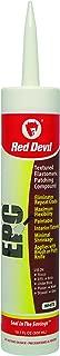 Red Devil 071806 EPC Elastomeric Patching Compound, 10.1 oz., White